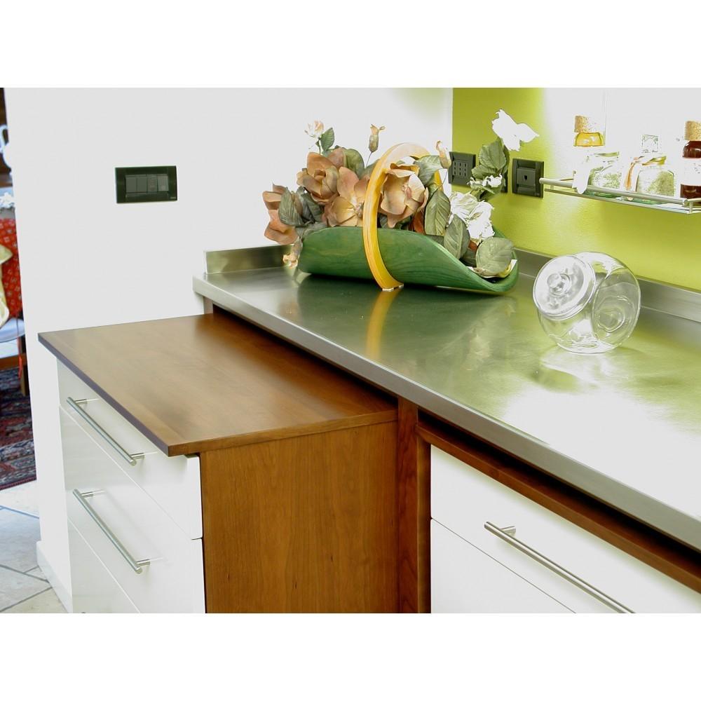 Cucine inox simple cucineinox mini cucine tags mini cucine salvaspazio minicucine with cucine - Top cucina acciaio inox prezzo ...