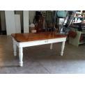 Tavolo dell 1800 bicolore