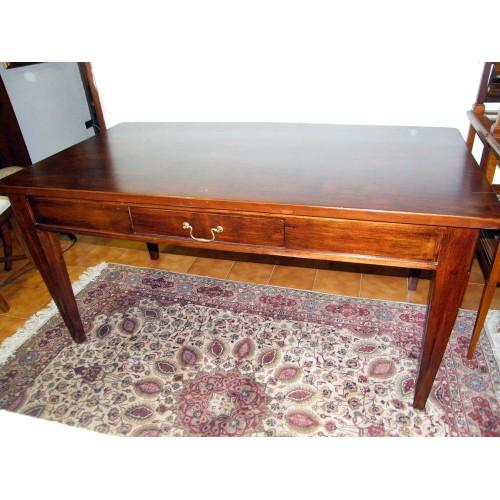 Tavolo vecchio in platano