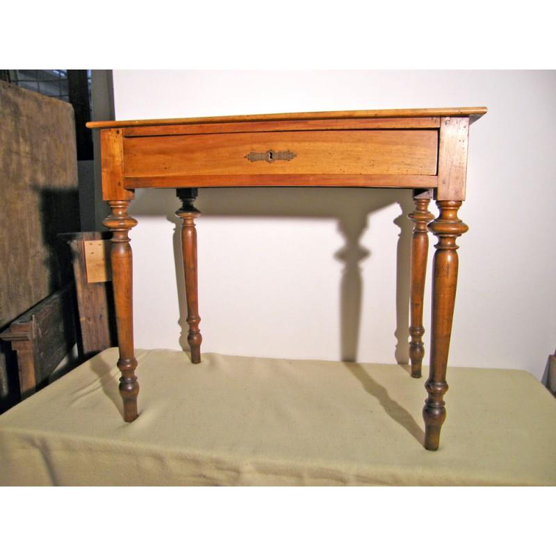 Tavolino antico epoca 800 in Noce nazionale