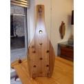 Portabottiglie in legno di Quescia vecchio