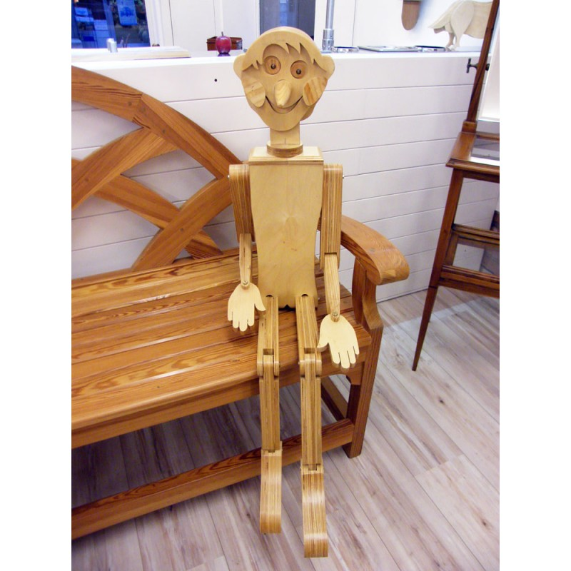 Pinocchio su commissione o disponibile anche in affitto
