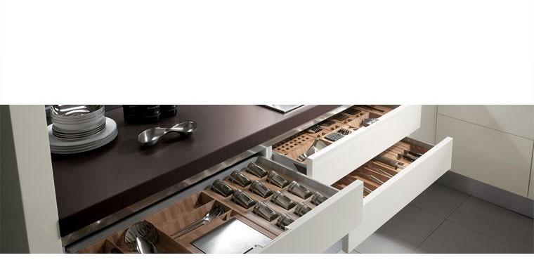 Cassetti e cestoni, accessori interni per la cucina - Il Mulino Arredamenti